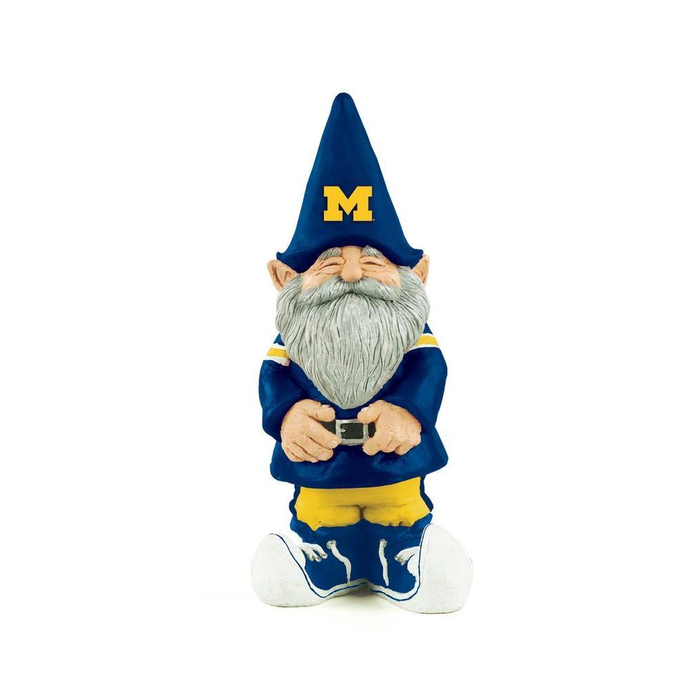11-1/4 in. University of Michigan Garden Gnome