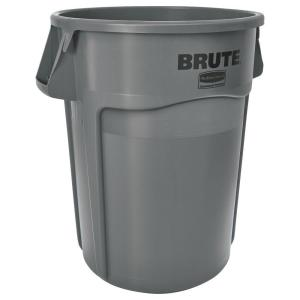 Rubbermaid Commercial Products Brute 44 Gal. Grey Round Vented Trash Can by Rubbermaid Commercial Products