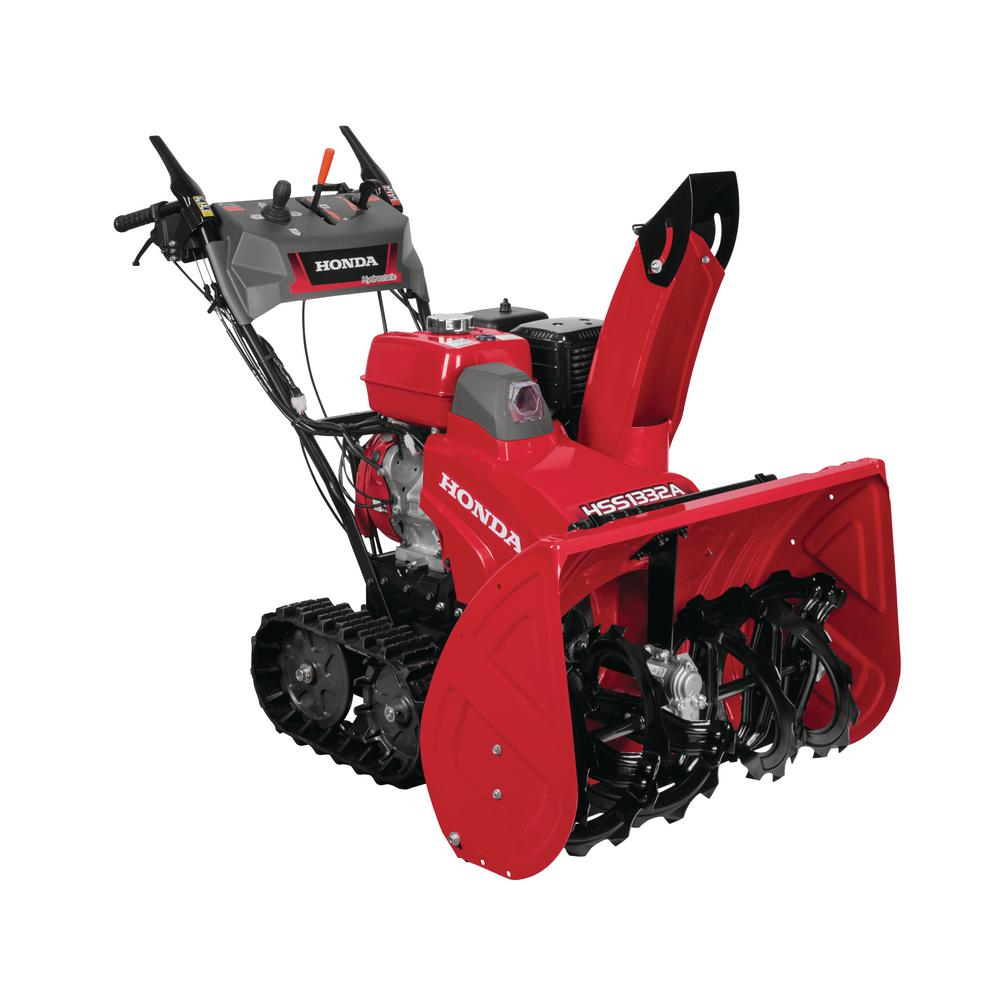 32 in. Hydrostatic Track Drive 2-Stage Gas Snow Blower with Electric