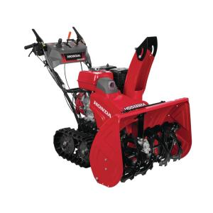 Honda 32 inch Hydrostatic Track Drive 2-Stage Gas Snow Blower with Electric Joystick Chute Control by Honda