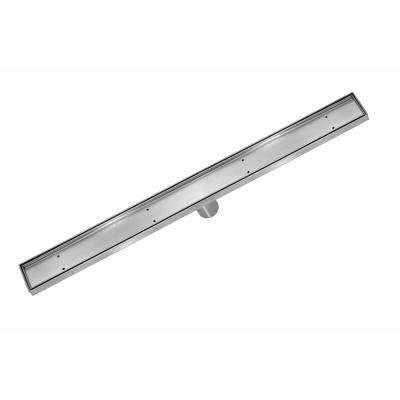 40 in. Stainless Steel Linear Shower Drain - Tile Insert