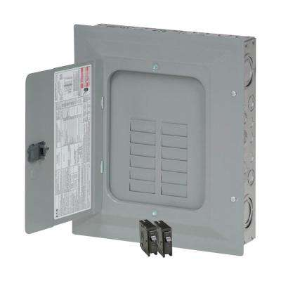 BR 125 Amp 24-Circuit Main Lug Indoor Plug On Neutral Load Center Contractor Kit ((2) BR120)
