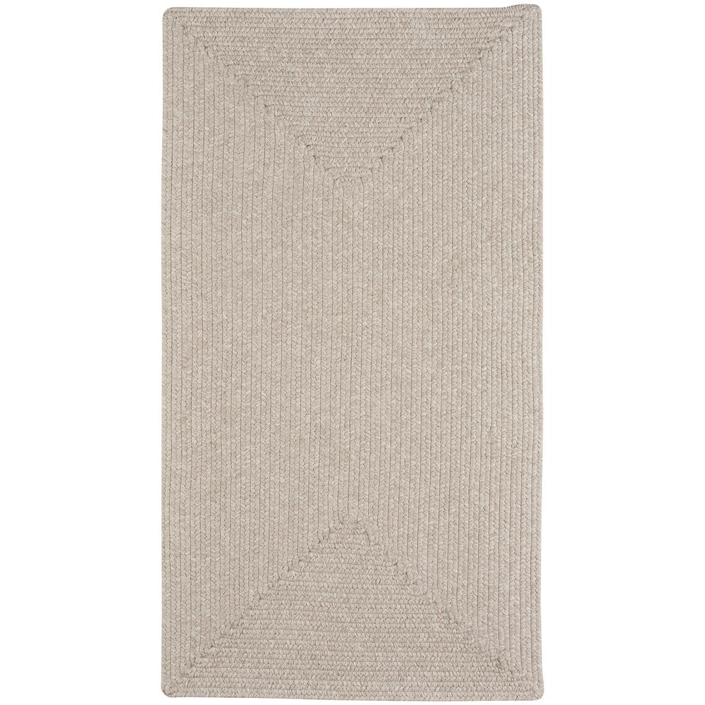 Candor Concentric Natural 2 ft. x 8 ft. Area Rug