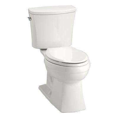 Kelston Comfort Height 2-Piece 1.6 GPF Single Flush Elongated Toilet with AquaPiston Flushing Technology in White