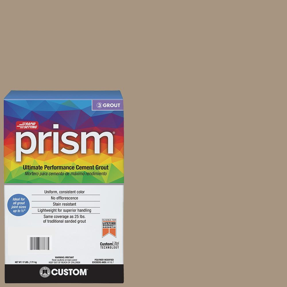 Prism #145 Light Smoke 17 lb. Grout