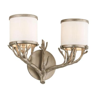 Whitman 2-Light Vienna Bronze Vanity Light
