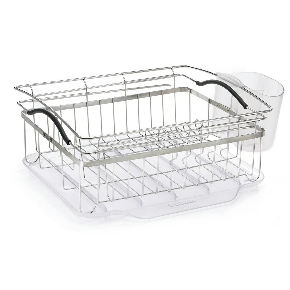 Polder Compact Dish Rack Kth 250 The Home Depot