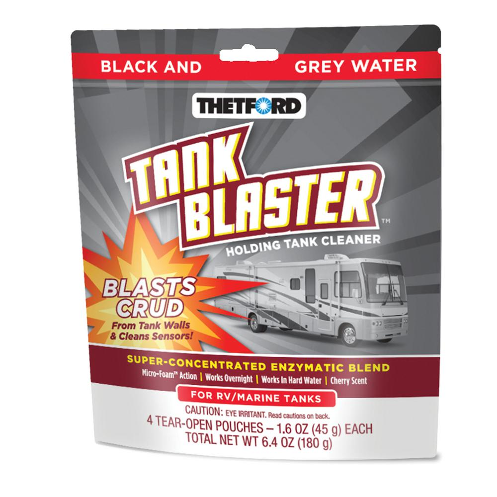 1.6 oz. Pouches Tank Blaster Holding Tank Cleaner (4-Pack)