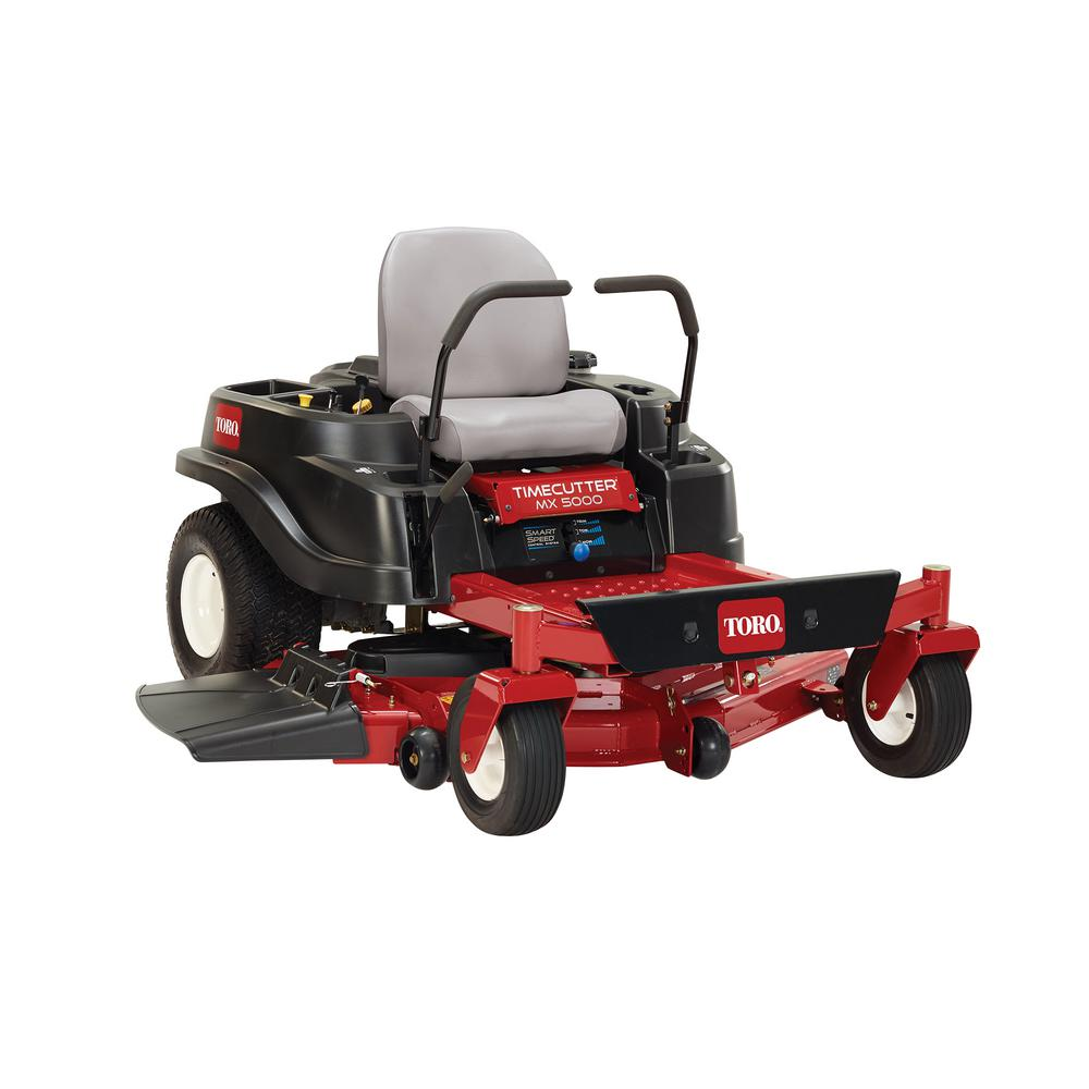 Toro TimeCutter MX5000 50 in. Fab 24.5 HP V-Twin Zero-Turn Riding Mower with Smart Speed
