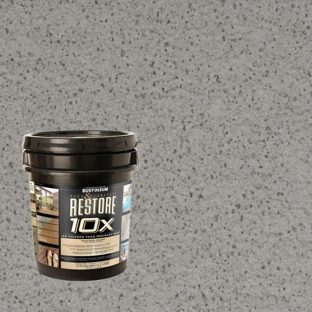 Rust-Oleum Restore 4-gal. Juniper Deck and Concrete 10X Resurfacer