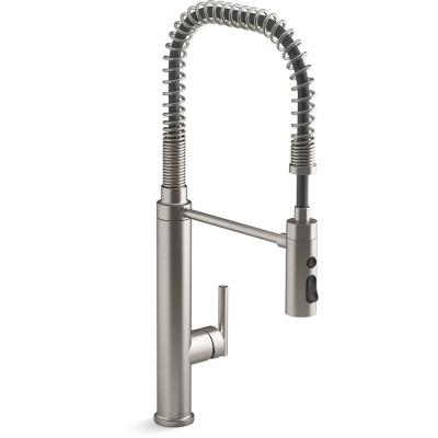 Purist Single-Handle Semiprofessional Kitchen Sink Faucet in Vibrant Stainless