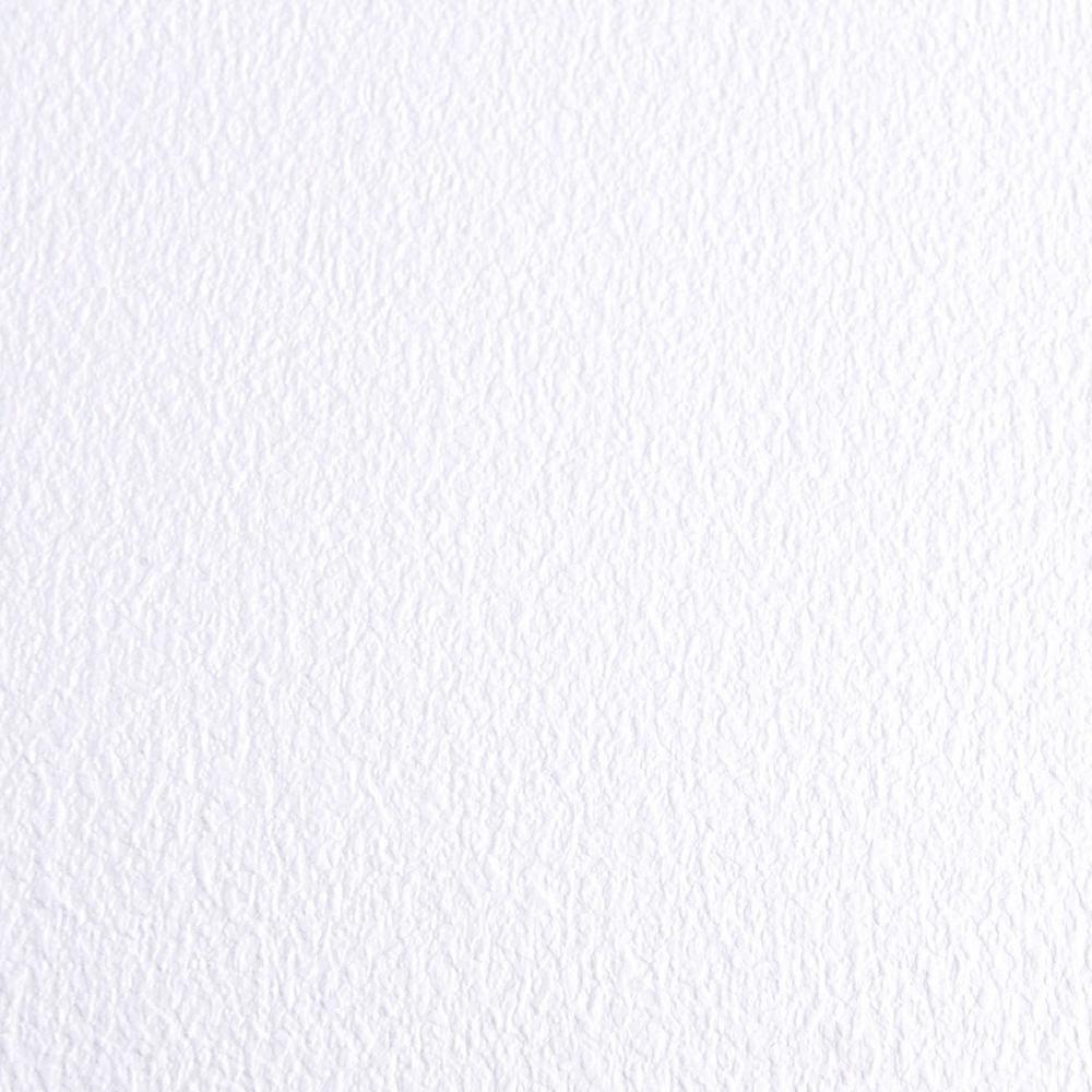 GrowFloor Absolute White Ceramic High Gloss 7.5 ft. x 15 ft. Commercial Vinyl Sheet