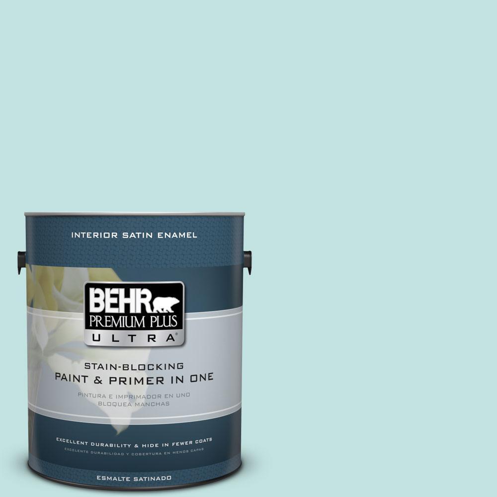 BEHR Premium Plus Ultra 1-gal. #M450-2 Tidewater Satin Enamel Interior Paint