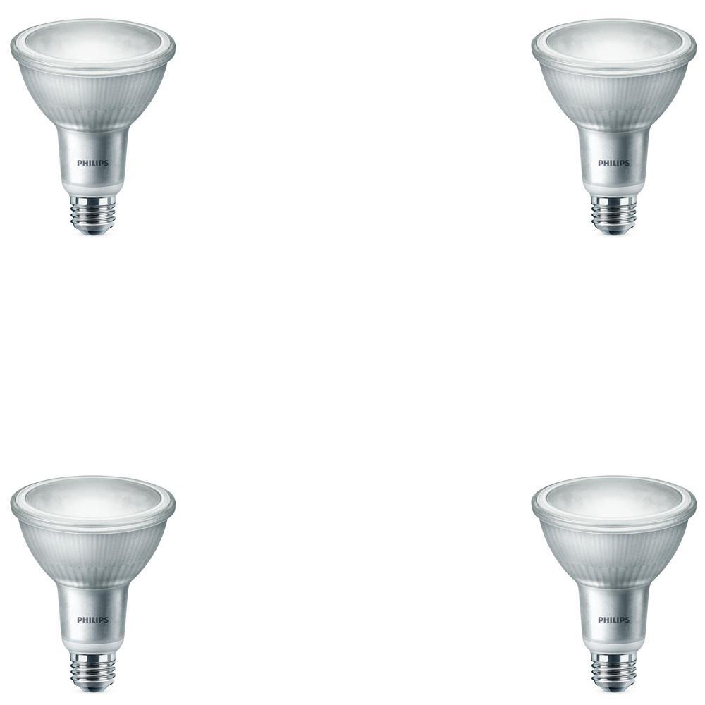 Philips 75 Watt Equivalent Par30l Led Warm Glow Bright White Light
