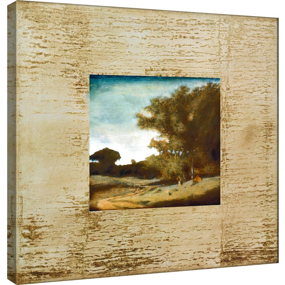 PTM Images 15.in x 15.in \'\'Tecnica I\'\' Printed Canvas Wall Art-9 ...