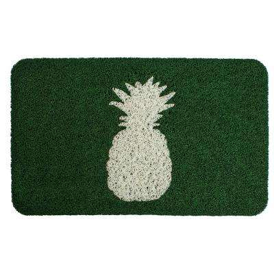 Delicious Pineapple 18 in. x 30 in. PVC Door Mat