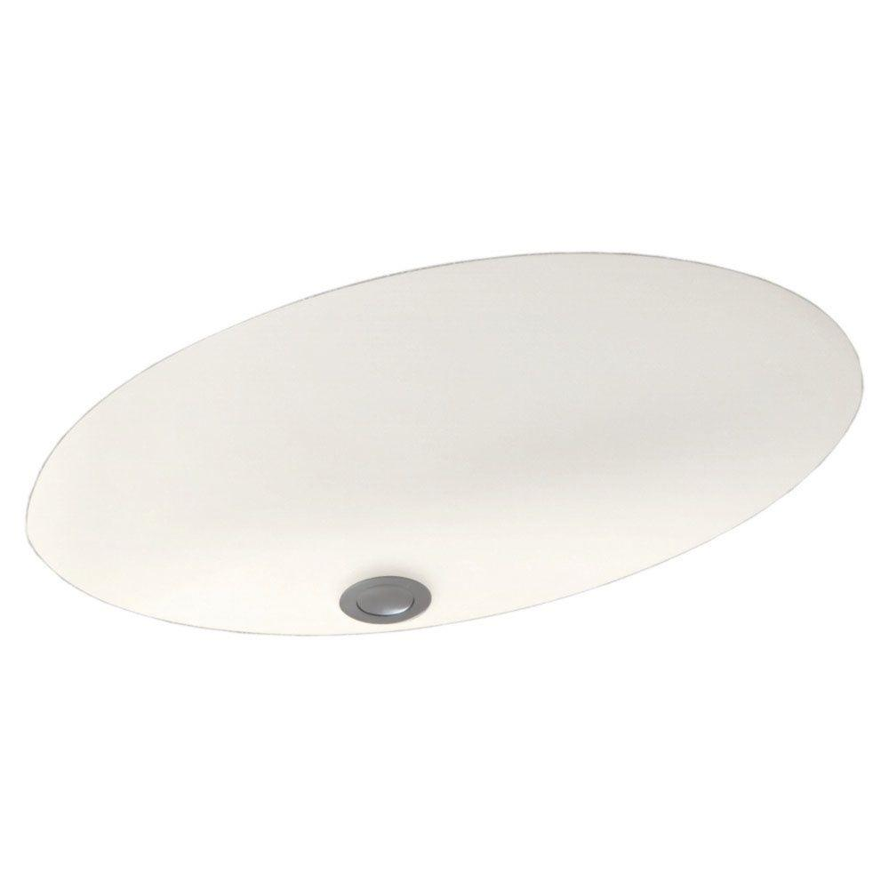 Undermount Bathroom Sink in Tahiti Ivory