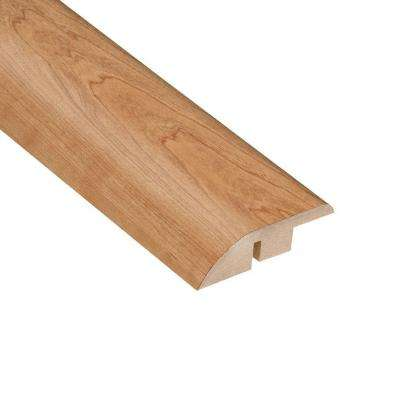 High Gloss Taos Cherry 1/2 in. Thick x 1-3/4 in. Wide x 94 in. Length Laminate Hard Surface Reducer Molding