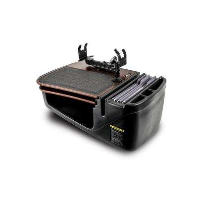 Gripmaster with Built-In Power Inverter, Phone Mount and Printer Stand, Mahogany