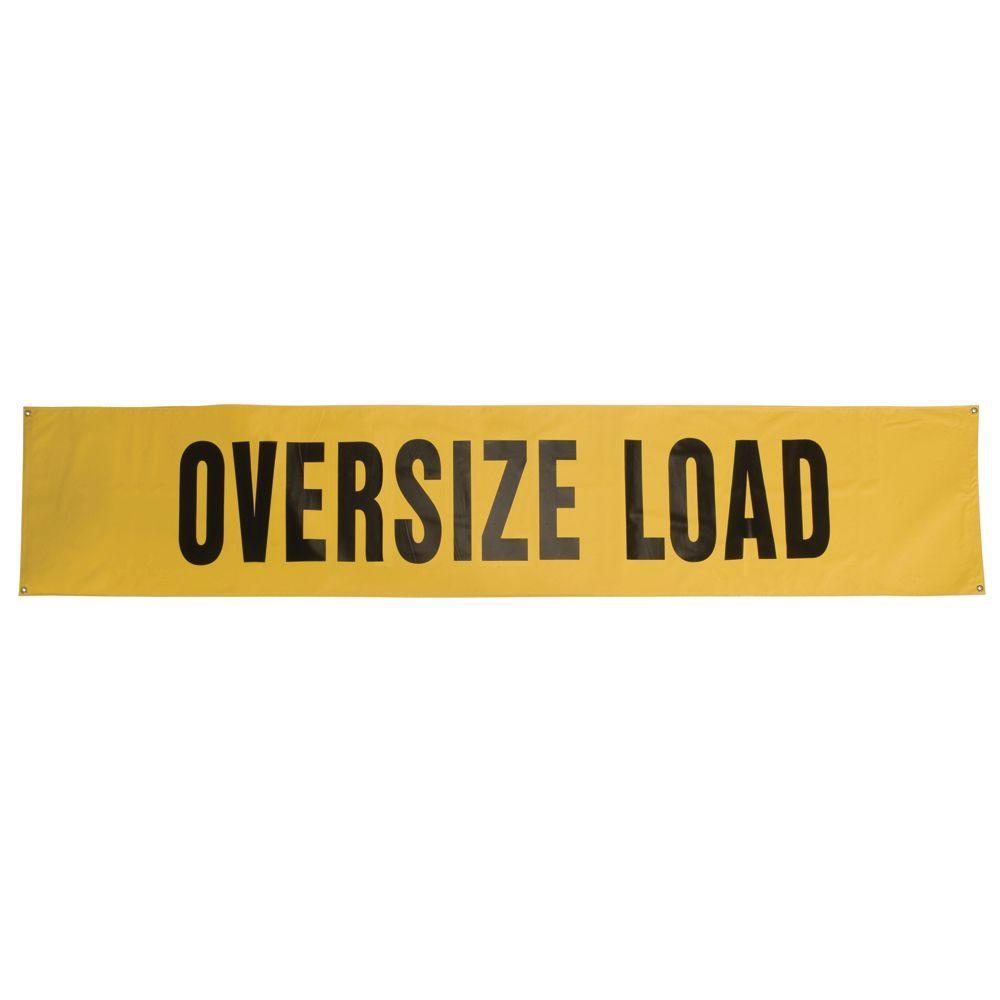 Wide Load Sign >> Safety Flag Oversize Load Sign