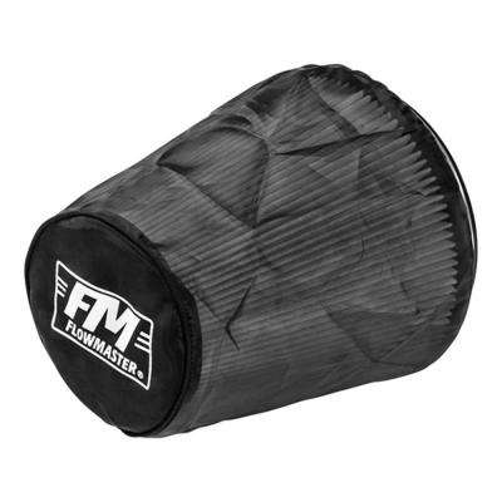 Universal Air Filter Wrap 8.625in Long - Black