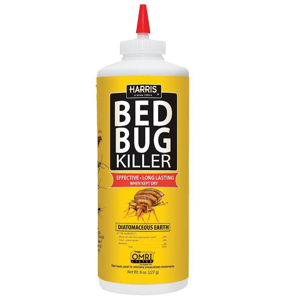 8 oz. Diatomaceous Earth Bedbug Killer