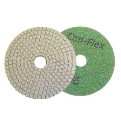 4 in. Con-Flex 5-Step Diamond Pads for Concrete Step 5