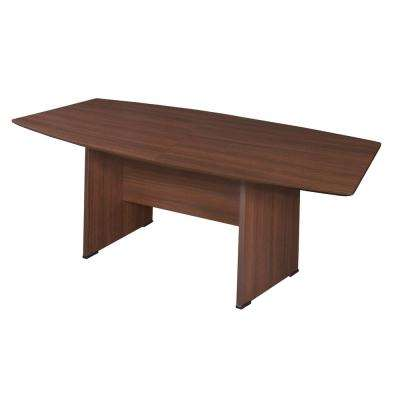 Sandia 71 in. Java Boat Shape Conference Table