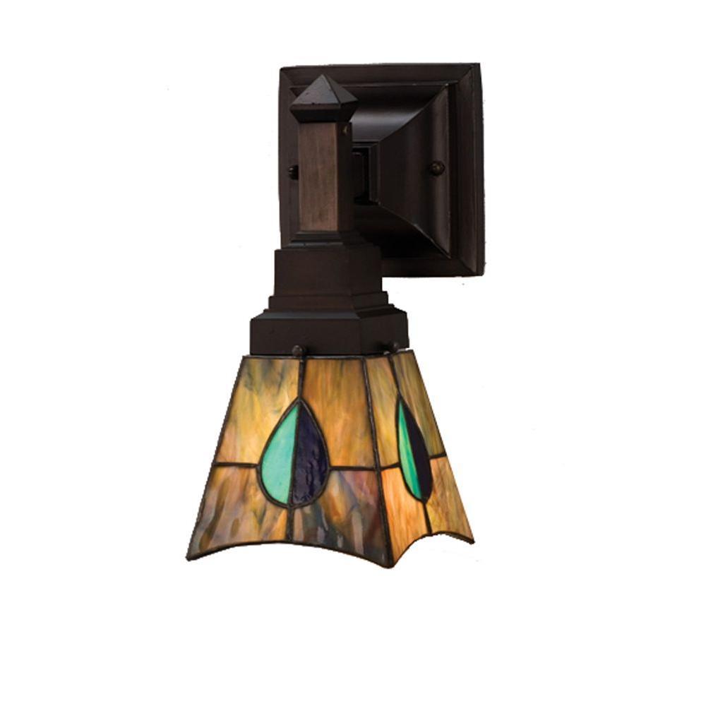 Illumine 1 Mackintosh Leaf Wall Sconce