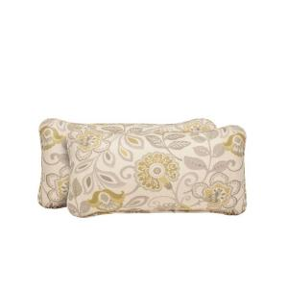 Brown Jordan Vineyard Aphrodite Spring Outdoor Lumbar Pillow (2-Pack) by Brown Jordan
