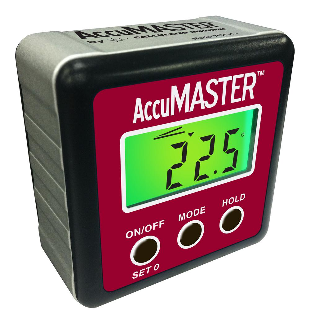 Digital Angle Finder >> Calculated Industries Accumaster 2 In 1 Digital Angle Gauge 7434