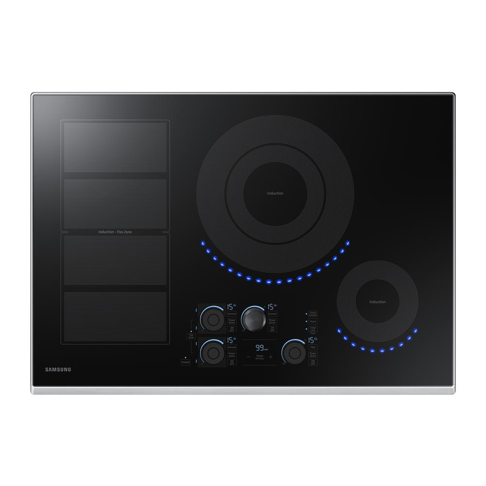 Samsung 30 in. Induction Cooktop with Stainless Steel (Si...