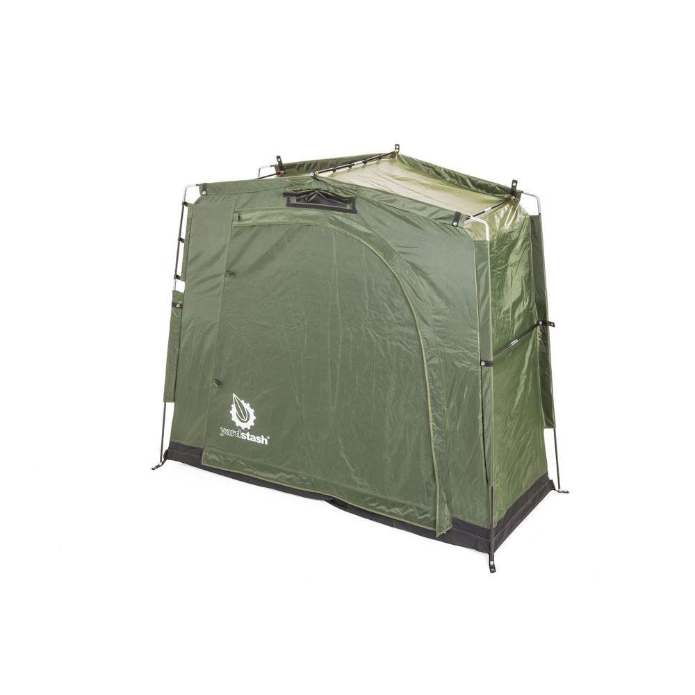 YardStash III 6 ft. 2 in. x 2 ft. 5 in. Heavy Duty Outdoor Storage Tent