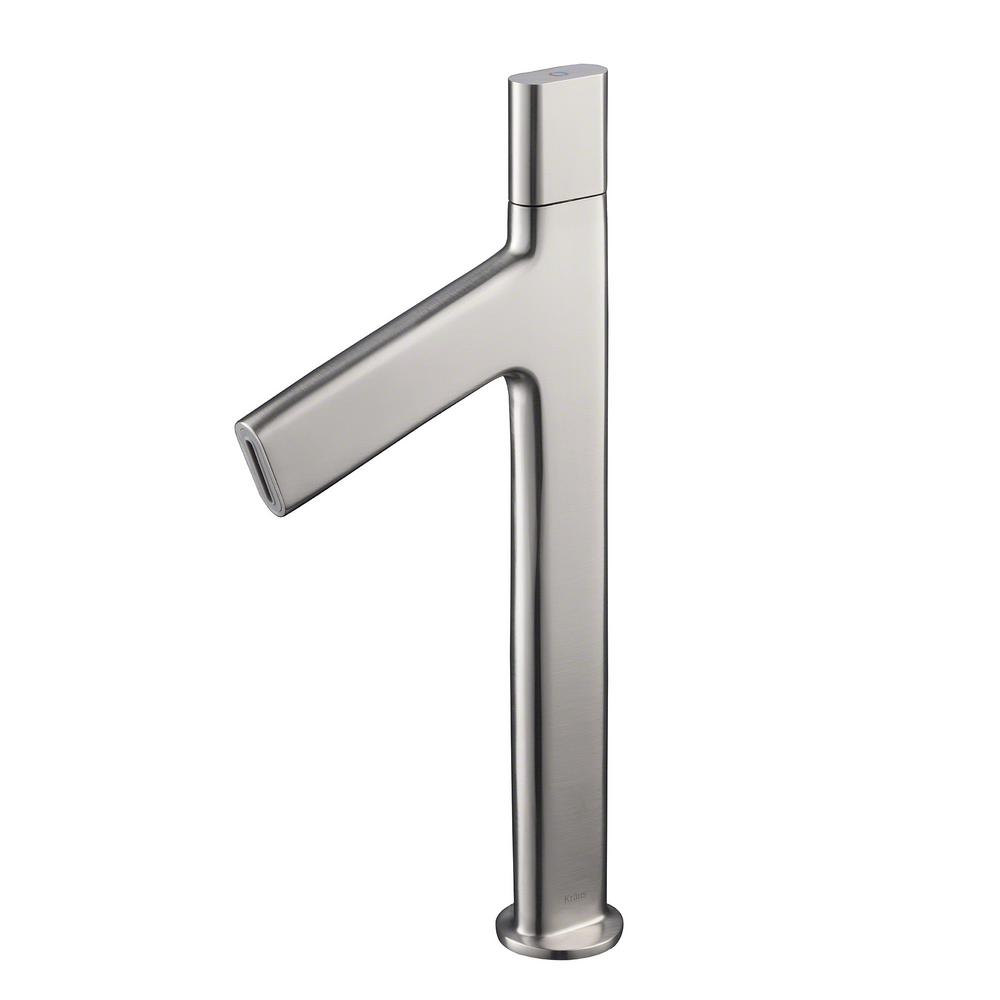 Kraus ino single hole single handle high arc vessel - Kraus shower faucets ...