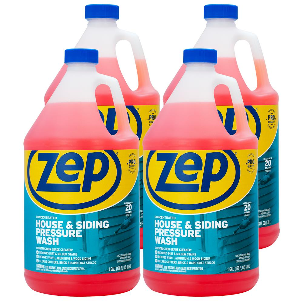 ZEP 1 Gallon House and Siding Pressure Wash Concentrate (Case of 4)