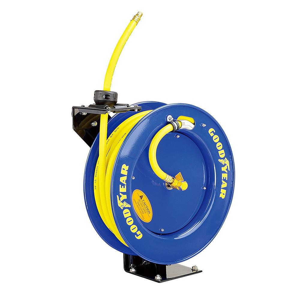 50 ft. x 3/8 in. Retractable Air Hose Reel