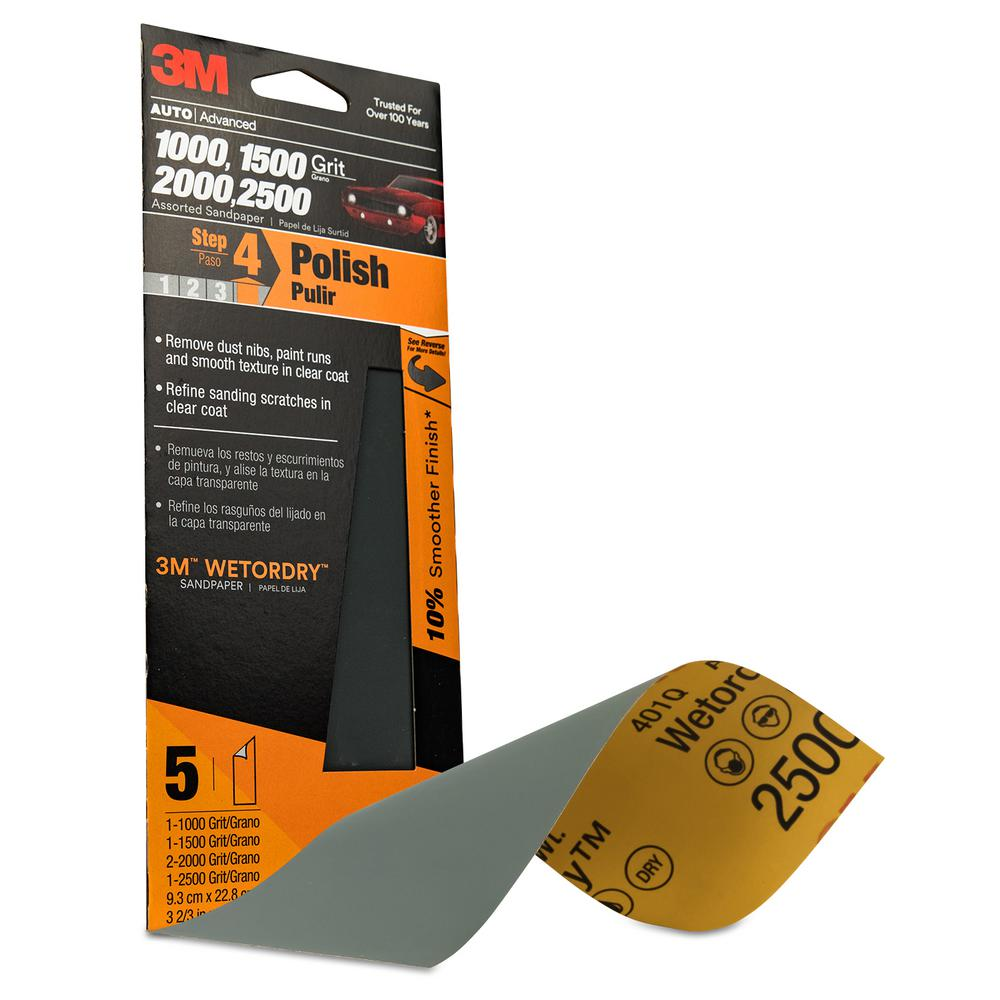 3m Wetordry 3 2 In X 9 Orted