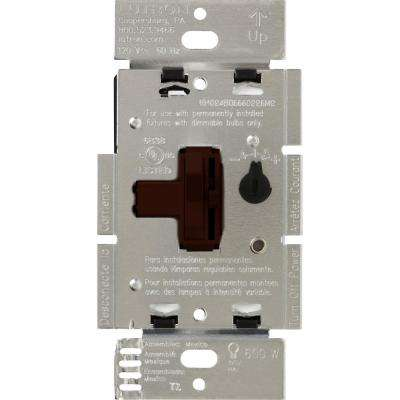 Toggler 600-Watt 3-Way Preset Dimmer, Brown