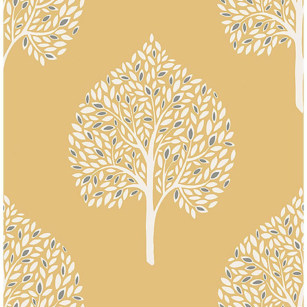 Grove Mustard Tree Wallpaper