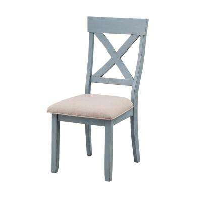 Bar Harbor Blue Dining Chairs (Set of 2)