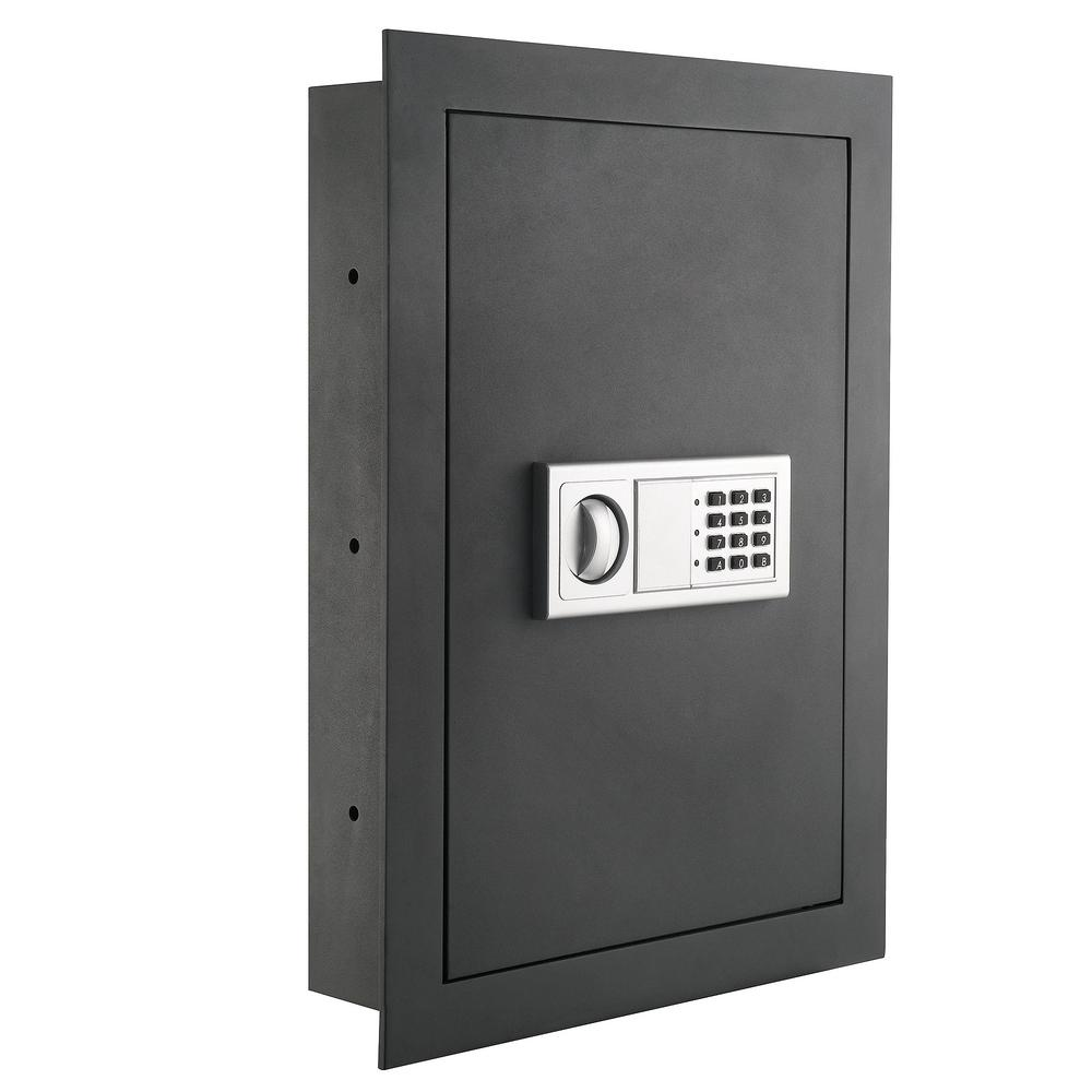 Paragon Flat Electronic Wall Safe For Jewelry Security 0 83 Cf