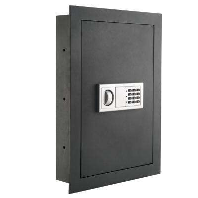 0.83 cu. ft. Flat Electronic Wall Safe for Jewelry Security