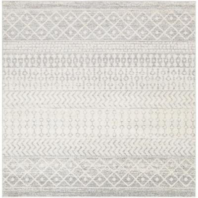 Laurine Gray 7 ft. 10 in. Square Area Rug