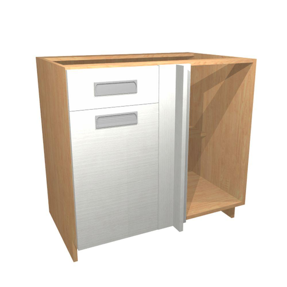 Ready To Assemble Kitchen Cabinets Home Depot: Home Decorators Collection 36x34.5x24 In. Genoa Blind Base