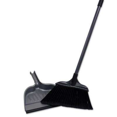 Jumbo 15 in. Angle Broom with Dustpan