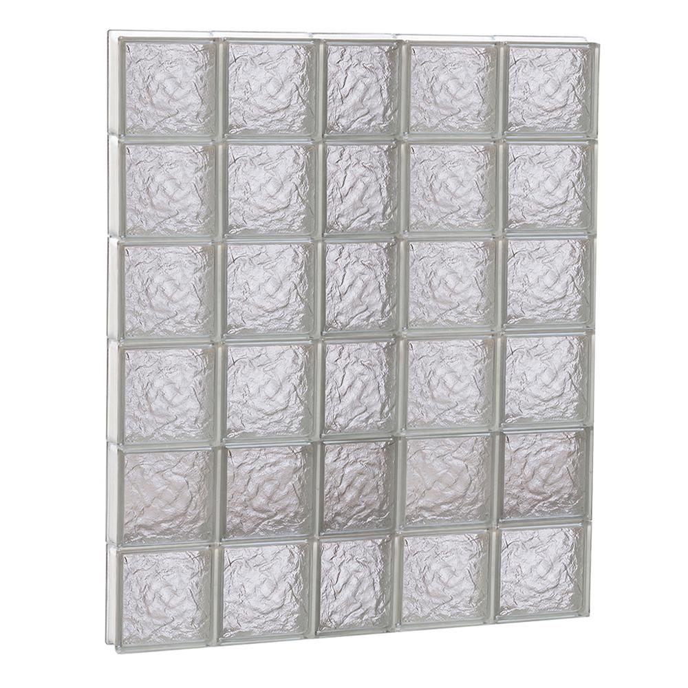Clearly Secure 36.75 in. x 46.5 in. x 3.125 in. Frameless Ice ...