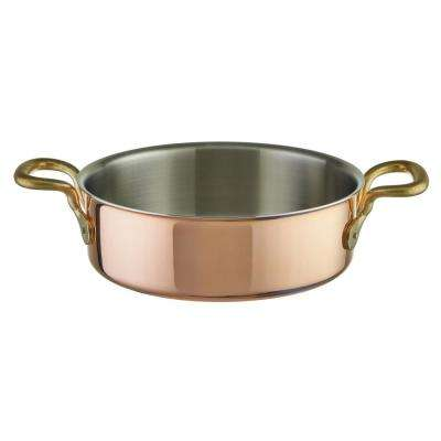2-3/8 Qt. Tri-Ply Copper Rondeau