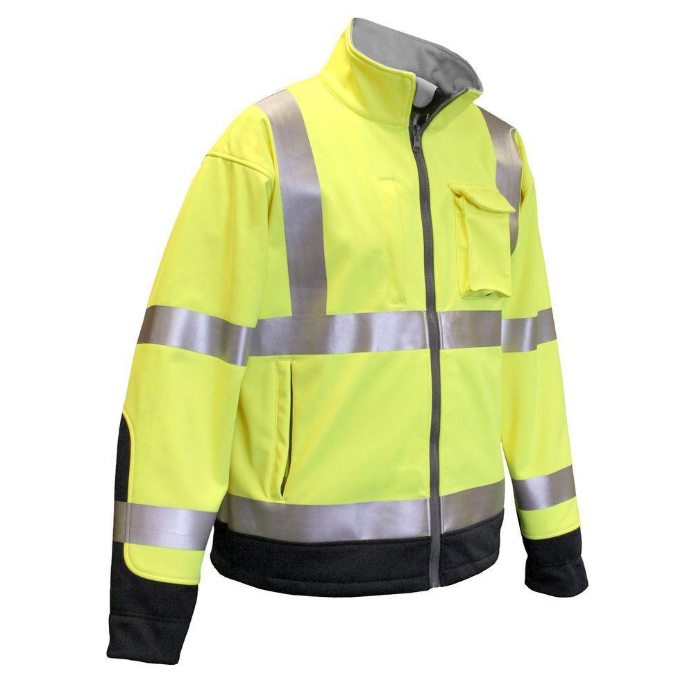 Radians Class 3 Tri Laminate Jacket Green 3X