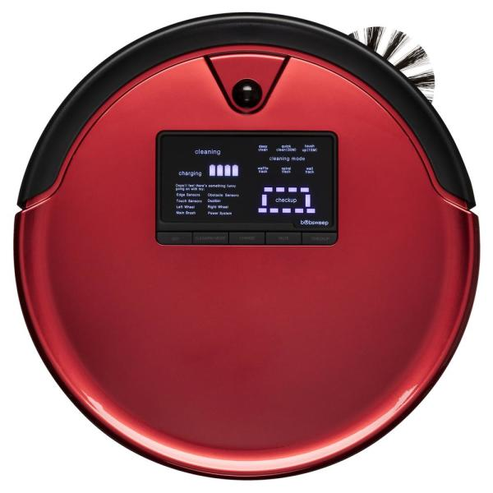 PetHair Plus Robotic Vacuum Cleaner and Mop, Rouge
