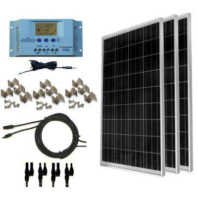 300-Watt Off-Grid Polycrstalline Solar Panel Kit